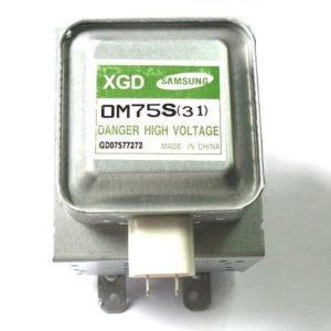 Фото магнетрон совместимый с samsung om75s для микроволновой печи