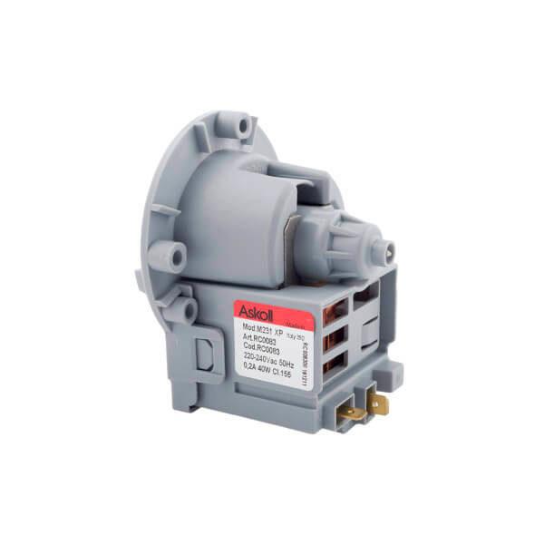 Картинка насос(помпа) askoll mod. m224xp/m231xp (медная катушка) для стиральной машины