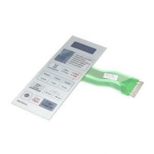 Фото панели управления (мембрана) lg mfm61916801 для микроволновой печи.