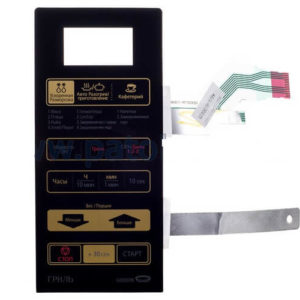 Фото панель управления (мембрана) samsung de34-00356c для микроволновой печи.