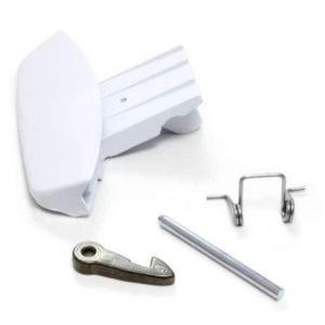 Фото ручку дверки (люка) ariston c00116576 для стиральной машины