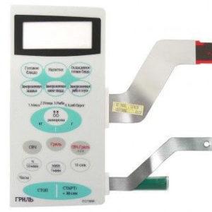 Фото сенсорной панели samsung de34-00193d для микроволновой печи.